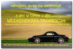 promocjaweekendowa#zapraszamydowypożyczalniautwarszawa#best-rent#przyjdźjeździj3dni#zapłaćza2dni#wypożyczalniasamochodów# Racing, Car, Automobile, Auto Racing, Lace, Vehicles, Cars