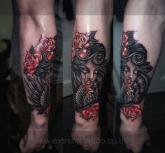 Zombie girl roses crow tattoo sleeve in progress,Gabi Tomescu.Extreme tattoo&piercing. Fort William.Highland.Realistic tattoo, Black and grey tattoo, Japanese tattoo, Traditional tattoo, Floral tattoo, Chinese tattoo, Fine line art tattoo, Old school tattoo, Tribal Tattoo, Maori tattoo, Religious tattoo, Pin-up tattoo, Celtic tattoo, New school tattoo, Oriental tattoo, Biomechanical tattoo