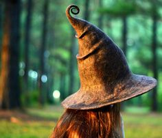 Halloween Witch Hat. Wizard Hat. Fantasy Hat. Cosplay Hat. LARP.