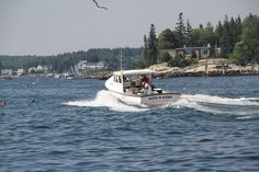 Lobstering in Boothbay Harbor Maine as seen on VisitMaine.net