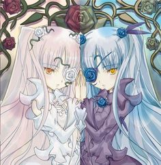 Kirakishou and Barasuishou the seventh rozen maiden