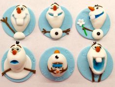 number 4 Frozen 3D Cakes | 1000+ ideas about Olaf Cupcakes on Pinterest | Cupcake Cakes, Olaf ...