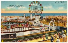 Playland on the beach, Wildwood by the Sea, N. J.