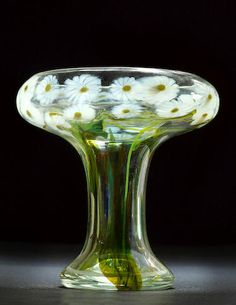 Tiffany Studios Shasta Daisy Paperweight Vase, circa 1912