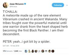 16 Hilarious Reactions To 'Black Panther' That Will Make You Laugh, Cry, And Thirst Marvel Jokes, Marvel Funny, Marvel Dc Comics, Marvel Avengers, Marvel Heroes, Shuri Black Panther, Dc Memes, Marvel Cinematic Universe, A Team