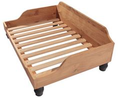 Berkeley wooden dog bed frame