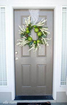 love this door from Ella Claire Inspiration