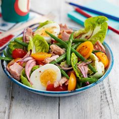 Tuna niçoise salad This classic salad is perfect for the summer months. Light and healthy but super tasty, it's easy to put together and gre...