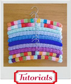 How to make crochet hangers
