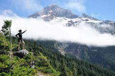 Trail guide index to blogs of her adventures in the Pacific Northwest - lots!!