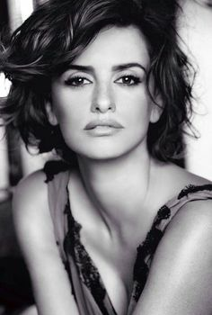 Image result for penelope cruz black and white