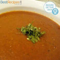 #Recipeoftheday: Spicy Tomato and Lentil Soup