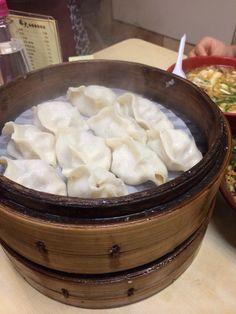 last lunch 蒸餃子 at福大餃子