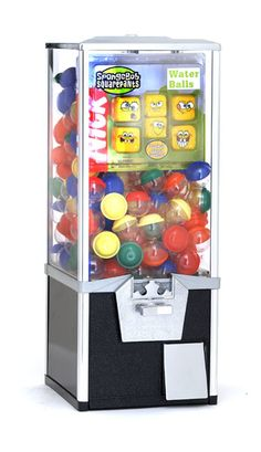 """25"""" Toy Tower Capsule Machine. Made to hold lots of gumballs or toys. http://www.vendingmachinesunlimited.com/25_toy_tower_capsule_machine-p-13690-l-en.html"""