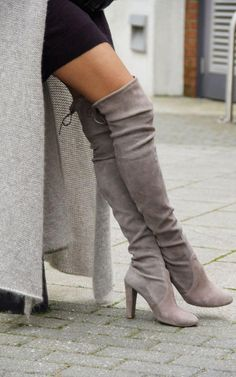 This fall, we're in love with the over-the-knee-boot!