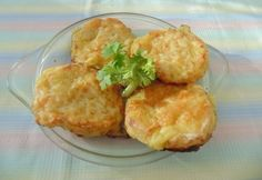 Grattan burgonya Snack Bar, Potato Recipes, Baked Potato, Cauliflower, Side Dishes, Muffin, Food And Drink, Snacks, Vegetables