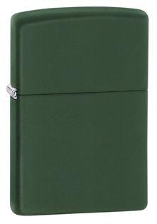 Green Matte Zippo lighter.