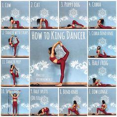 King dancer pose