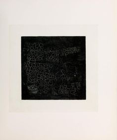 Kazimir Malevich : it is as black as Malevich's square. The cold furnace to which we stare. A high pitch on a future scale. It is a starless winternight's tale. It suits you well. It is black.