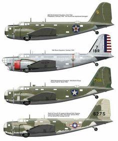 B-18 Bolo bombers