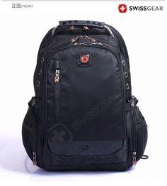 Faket Swissgear Unisex Backpack School Bag Student Laptop Bag 15-16'' Nylon