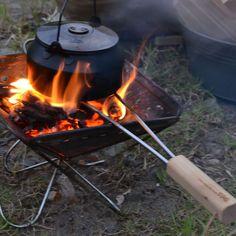 焚き火用五徳(グリルブリッジ) - 196|ひのきのキャンプ道具通販