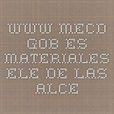 www.mecd.gob.es Materiales ELE de las ALCE