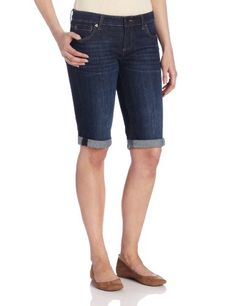 KUT from the Kloth Women's Roll Up Bermuda, Royal, 0