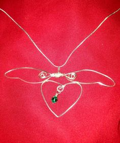 Angel holding my heart  Loss Miscarriage by jewelrywithatwist, $20.00