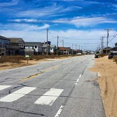"""NC 12 or """"Beach Road"""" in Kitty Hawk... One of the most scenic roads in the United States!"""