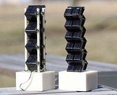 3D solar panels