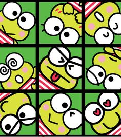 """Sanrio Keroppi Patch Custom Blanket  No Sew by RolanisWonderland  #HandmadeChristmas #Etsy #Etsians COUPON CODE: """"HARVEST15"""" for 15% Off your purchase of $60.00 or more!  EXPIRES: Thanksgiving Day, November 27TH!"""