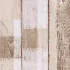 EVASION 5516154 PATCHED WOOD WHITE LARG 4 ML - Sols vinyle en lés
