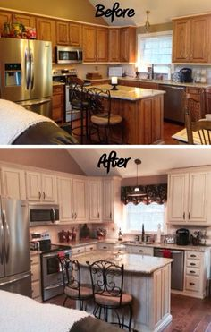Kitchen Reveal 80s To Awesome | Pinterest | Professional Painters, Enamel  Paint And Hardware