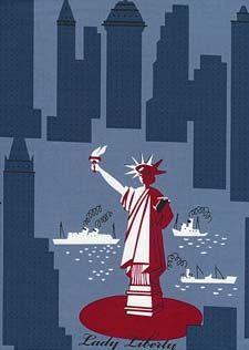 New York - Blue