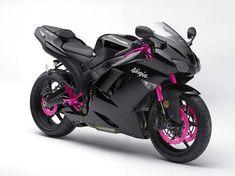 Gott, die wäre perfekt für mich ;o) Bitte einmal schwarz-pinke Ninja!!!