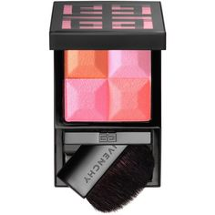 Givenchy Le Prisme Blush Powder Blush ($46) ❤ liked on Polyvore featuring beauty products, makeup, cheek makeup, blush, givenchy blush, powder blush and givenchy