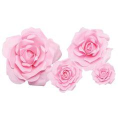 Silk Roses, Silk Flowers, One Rose, Foam Roses, Hand Molding, Giant Paper Flowers, Silk Flower Arrangements, Paper Hearts, Mold Making