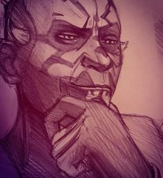 Every Maul lover wishes he would look at them like this. @kirabo01blog