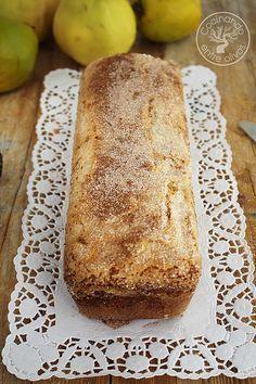 Bizcocho de membrillo www.cocinandoentreolivos.com (1) Sweet Recipes, Cake Recipes, Fantasy Cake, Portuguese Desserts, Pan Dulce, Crazy Cakes, Pie Cake, Sweet And Salty, Desert Recipes