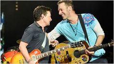 Michael J. Fox recrea algunas canciones de 'Regreso al futuro' junto a Coldplay