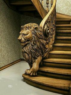 One Original Wood Staircase. One Original Wood Staircase. Staircase Railings, Staircase Design, Stairways, Banisters, Curved Staircase, Stair Treads, Building Stairs, Wooden Stairs, Wood Carving Art
