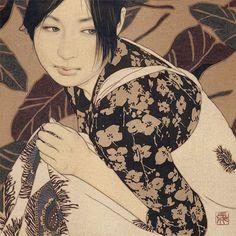 【現代美人画】絵に恋しそう・・・池永康晟が描く独特の色香を放つ女性たち