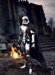 First Official Look at Game of Thrones Star Gwendoline Christie in Star Wars: The Force Awakens