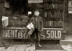 American children photographs by Lewis Hine