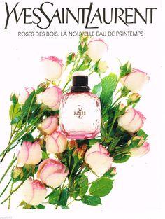 PUBLICITE ADVERTISING 065 2009 YVES SAINT LAURENT parfum femme PARIS