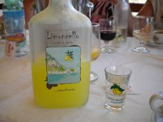 First time we had limoncello was in Italy. Forever love!