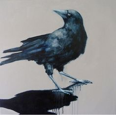 """Take thy beak from out my heart, and take thy form from off my door!"""" Seabastion Toast - Crow"""