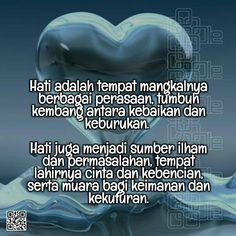 Semua berasal dari hati Alhamdulillah, Islam, Joker, Motivation, Quotes, Quotations, Jokers, Muslim, Qoutes