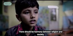 This touching video that asks children to describe religion shows that harmony is indeed possible.